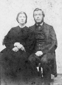 William R. and Catharine T. Plummer, original settlers of Plummers Hollow (date and photographer unknown